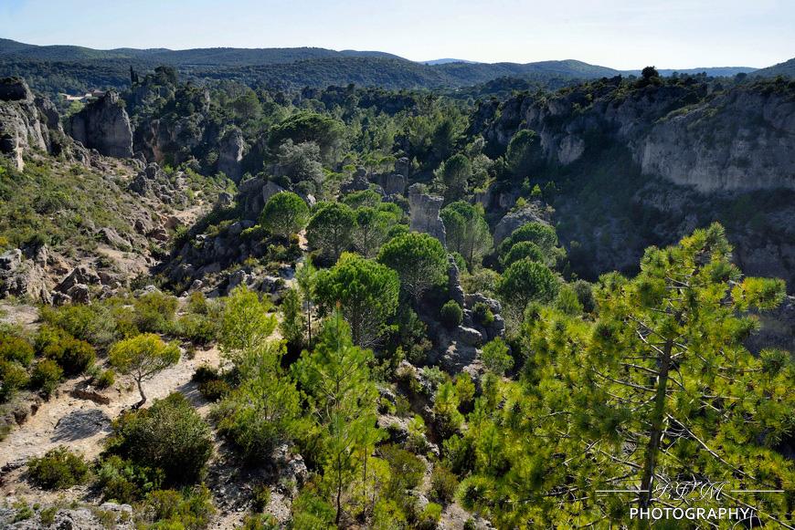 Sommet du mont Caroux